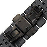 Ремінець BeWatch classic сталевий Link Xtra для Samsung Gear S3 Black (1021401), фото 5