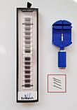 Ремінець BeWatch classic сталевий Link Xtra для Samsung Gear S3 Black (1021401), фото 7
