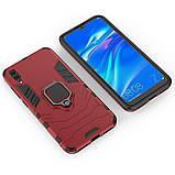 Чехол Ring Armor для Huawei Y7 Pro 2019 Красный (hub_NWuw46875), фото 3