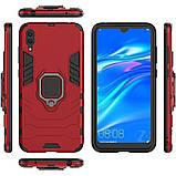 Чехол Ring Armor для Huawei Y7 Pro 2019 Красный (hub_NWuw46875), фото 5