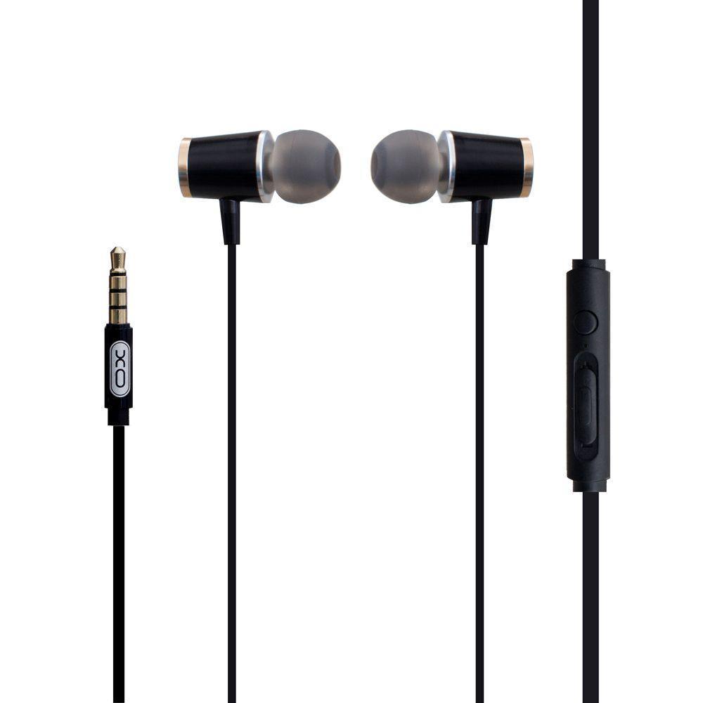Вакуумні навушники XO S28 гарнітура для телефону Чорний