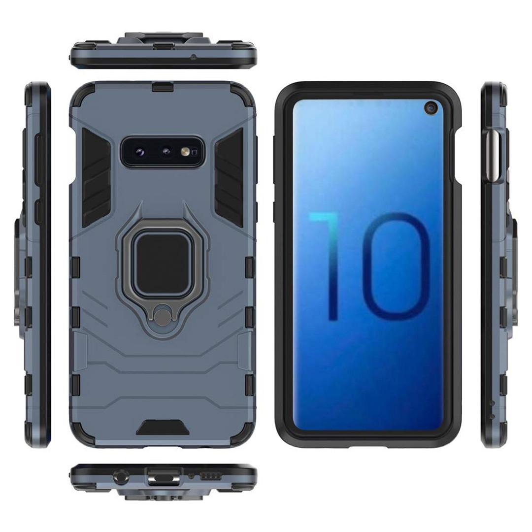 Чехол Ring Armor для Samsung G970 Galaxy S10e Синий (hub_WCcz01838)