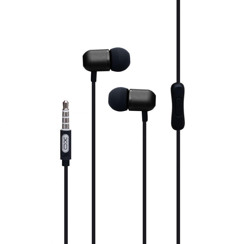 Вакуумные наушники XO EP5 гарнитура для телефона Черный