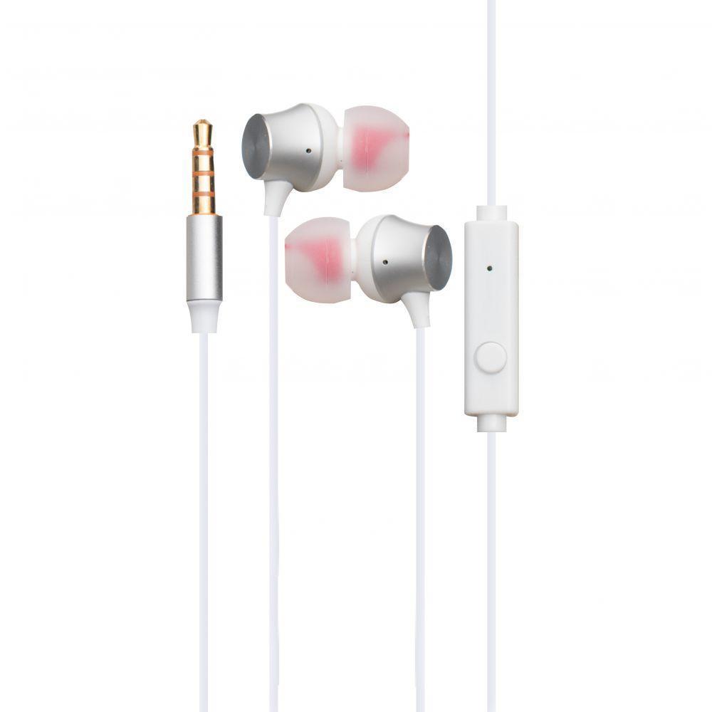 Вакуумні навушники Hoco M51 гарнітура для телефону Білий