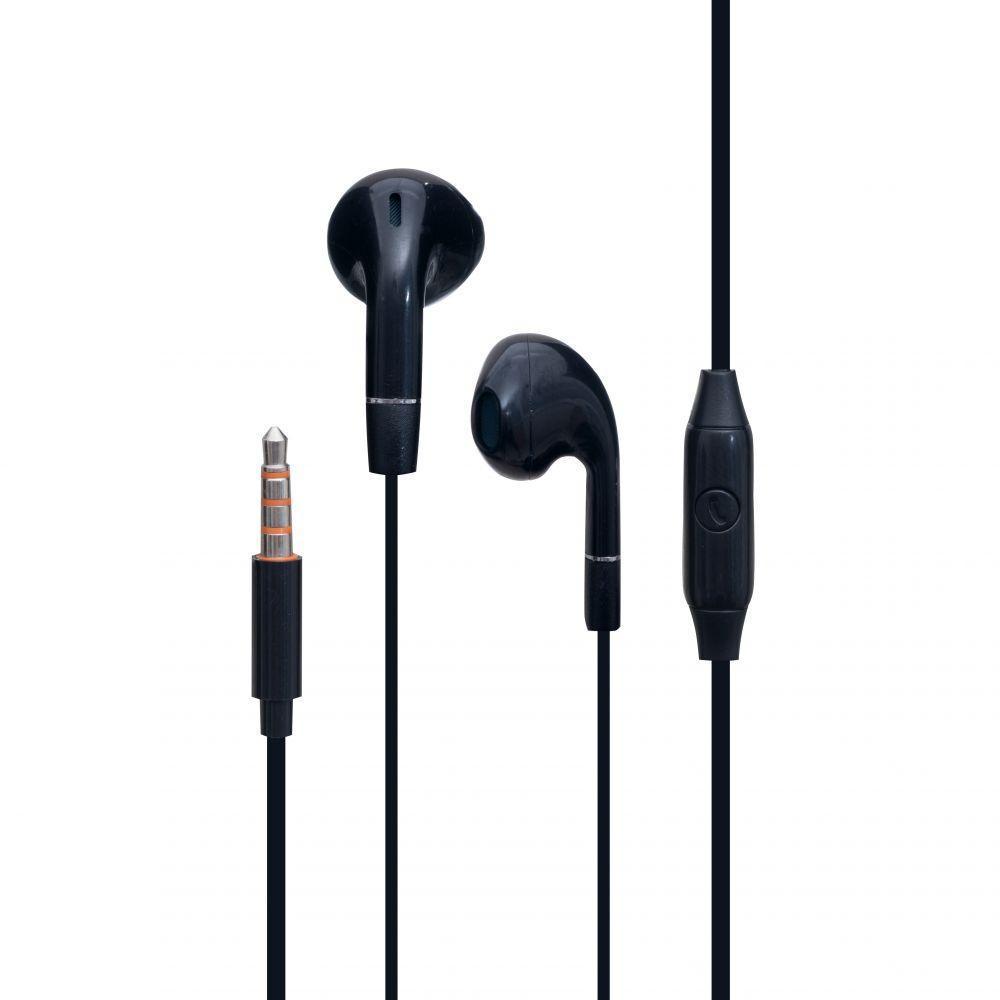 Навушники Celebrat G8 гарнітура для телефону Чорний
