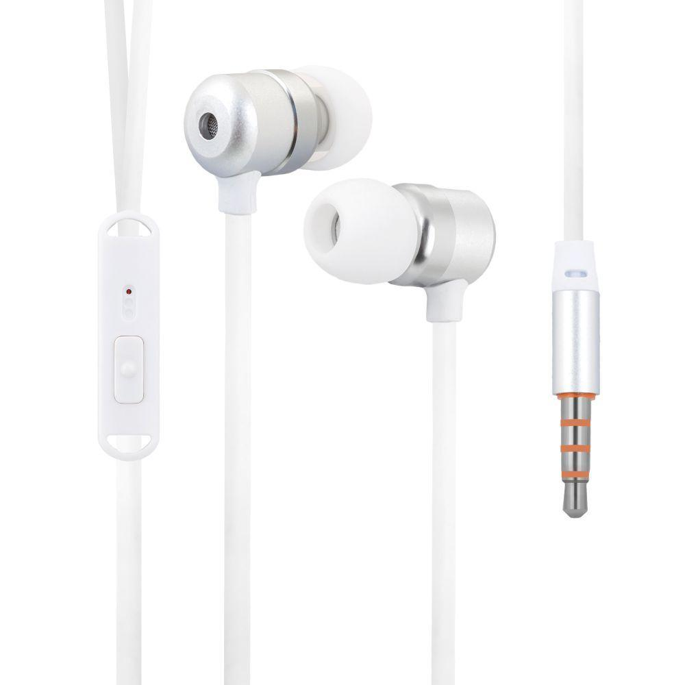Вакуумні навушники Celebrat G2 гарнітура для телефону Білий