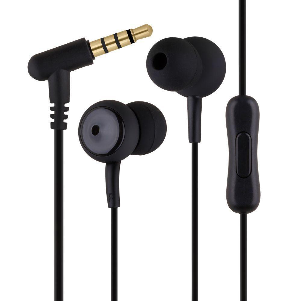Вакуумні навушники Remax RM-510 гарнітура для телефону Чорний