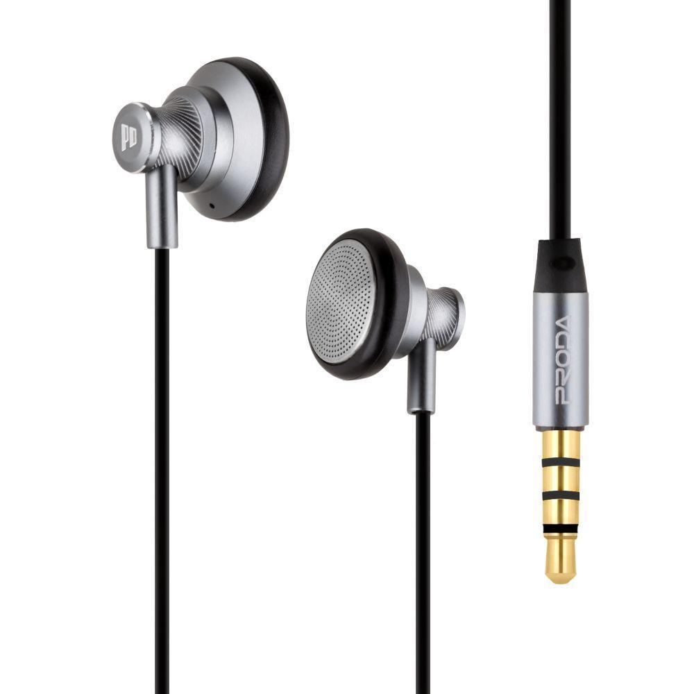 Вакуумні навушники Remax Proda PD-E500 гарнітура для телефону Сірий