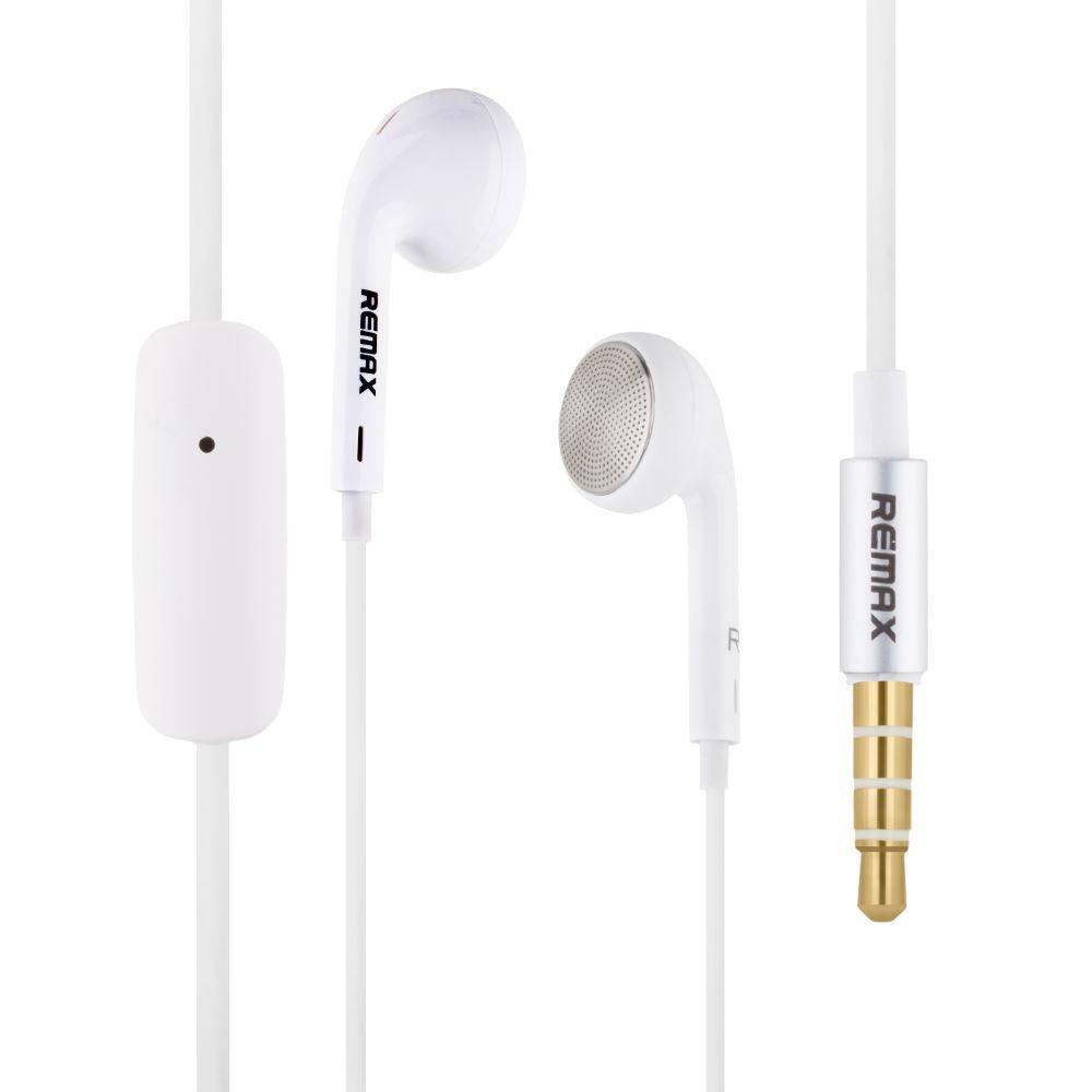 Вакуумні навушники Remax RM-303 гарнітура для телефону Білий