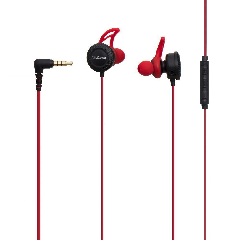 Вакуумні навушники Remax XII-CJ101 гарнітура для телефону Червоний