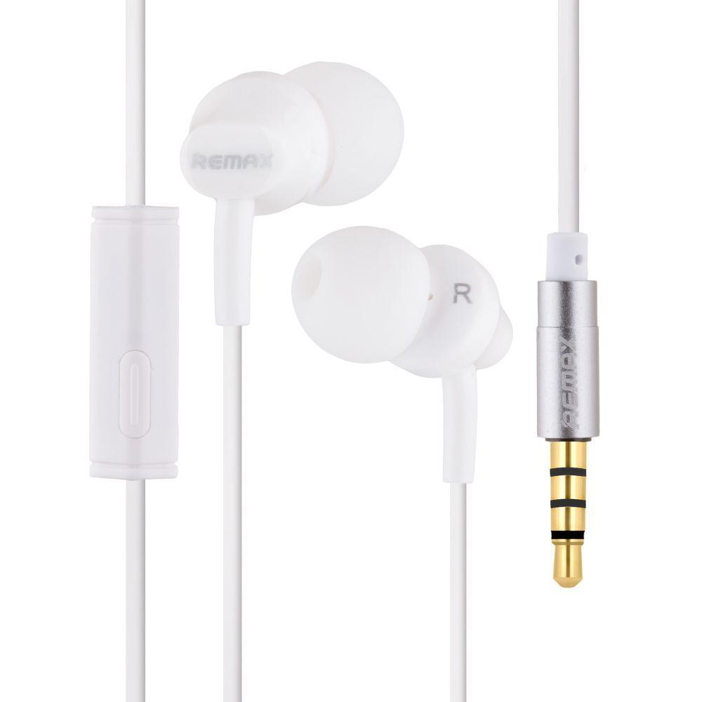 Вакуумні навушники Remax RM-501 гарнітура для телефону Білий