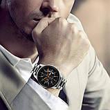 Ремінець BeWatch сталевий 22 мм Duo для Samsung Galaxy Watch 46 mm/Gear 3 Silver Black (1025411), фото 5