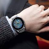 Ремешок стальной BeWatch 20 мм для Samsung Galaxy Active/Active 2 40 mm Серебро (1110405), фото 5