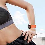 Ремінець BeWatch New 20 мм для Samsung Galaxy Watch 42 мм/Galaxy watch Active/active 2 40 mm Помаранчевий, фото 6