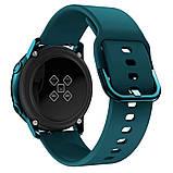 Ремешок BeWatch New 20 мм для Samsung Galaxy Watch 42 мм/Galaxy watch Active/active 2 40 mm Темно-зеленый, фото 4
