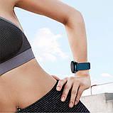 Ремешок BeWatch New 20 мм для Samsung Galaxy Watch 42 мм/Galaxy watch Active/active 2 40 mm Темно-зеленый, фото 6