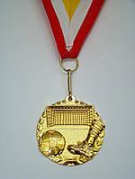 Медаль MD 56 gold с лентой