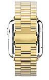 Браслет BeWatch для Apple Watch series 3 | 4 | 5 | 6 з шириною корпусу 38|40mm класичний сталевий Золото, фото 4
