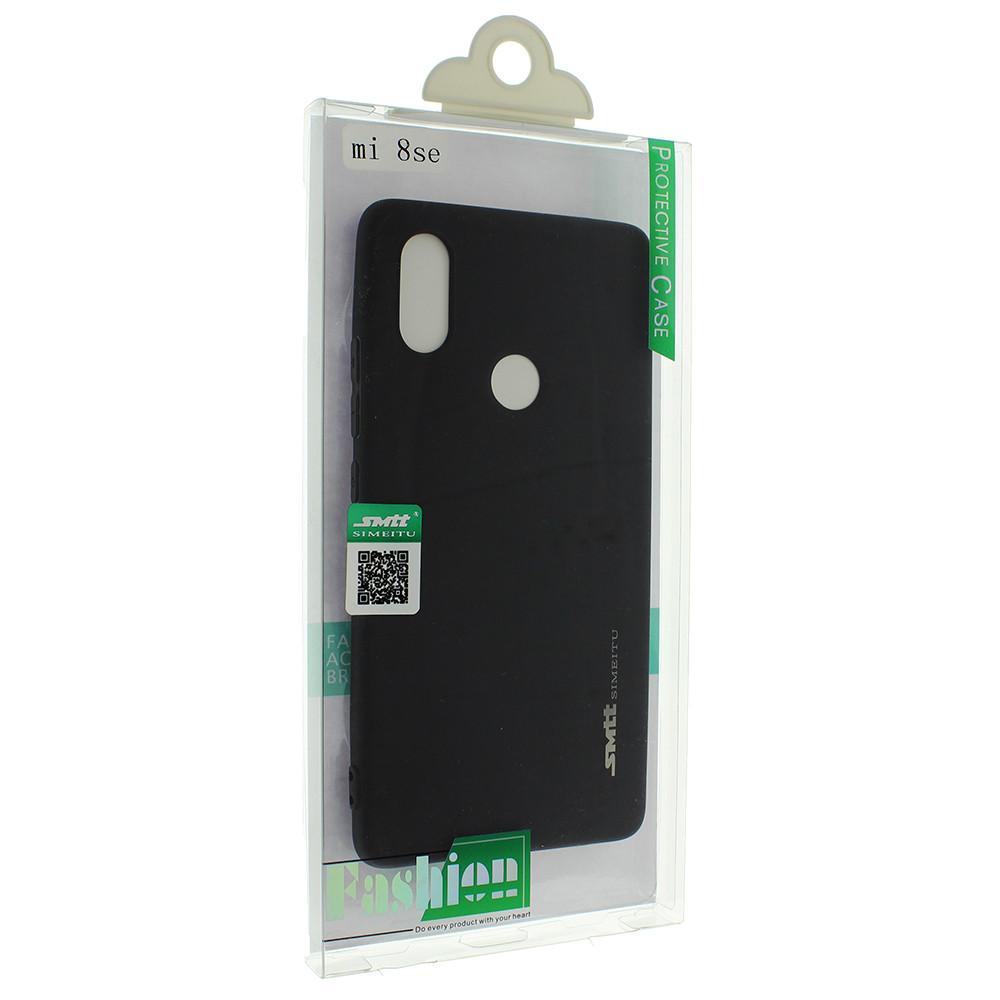 Силіконова накладка Smtt для Xiaomi Mi 8 SE Чорний (00003764)