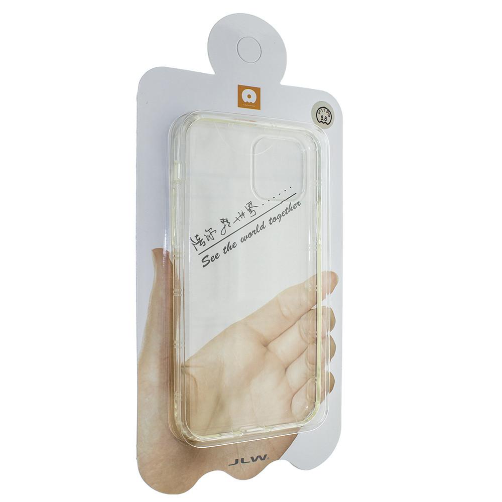 Силіконова накладка Wuw для Apple iPhone 11 Pro Прозорий (00007779)