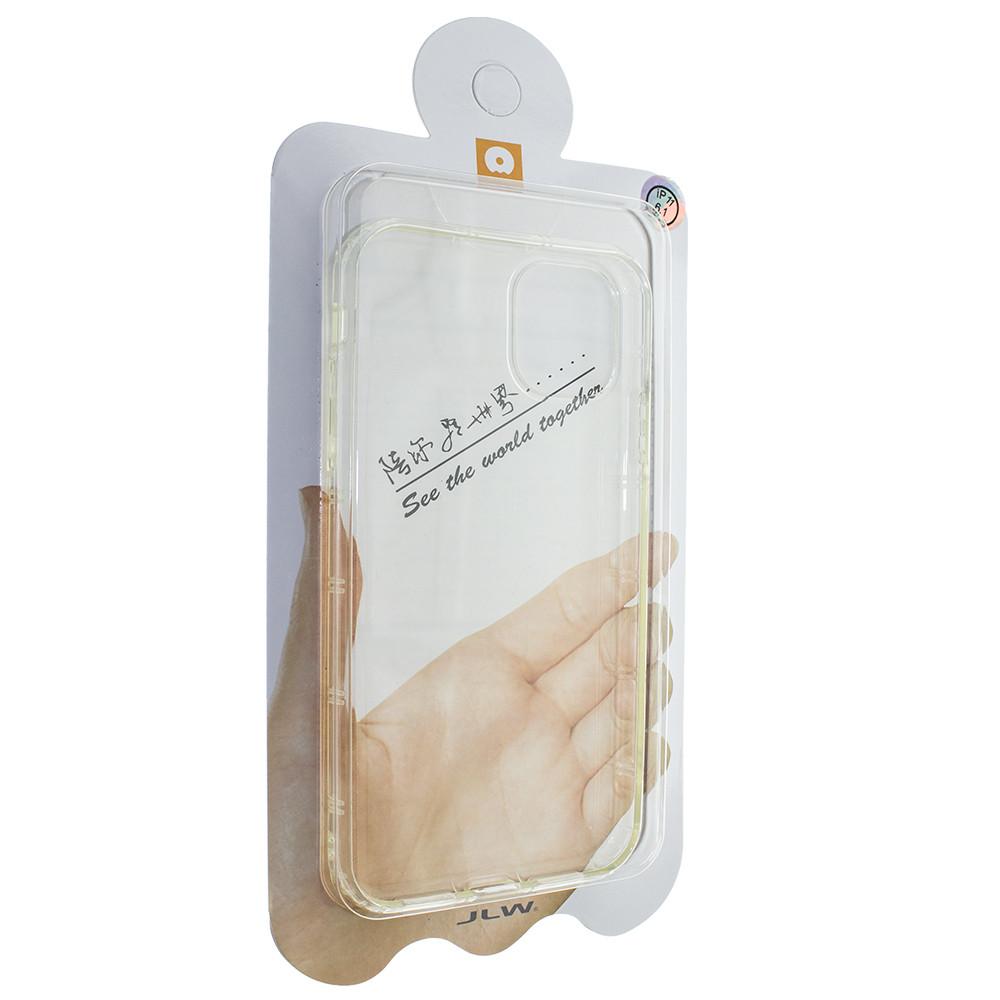 Силиконовая накладка Wuw для Apple iPhone 11 Прозрачный (00007778)