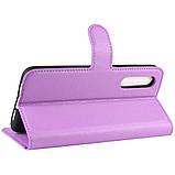 Чехол-книжка Litchie Wallet для Xiaomi Mi A3 / Mi CC9e Violet (hub_wysd57240), фото 5