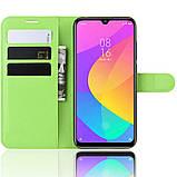 Чехол-книжка Litchie Wallet для Xiaomi Mi A3 / Mi CC9e Green (hub_TRgO47749), фото 5