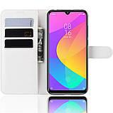Чехол-книжка Litchie Wallet для Xiaomi Mi A3 Lite / Mi CC9 White (hub_huSI33674), фото 5