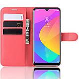 Чехол-книжка Litchie Wallet для Xiaomi Mi A3 Lite / Mi CC9 Red (hub_fUOI74365), фото 3