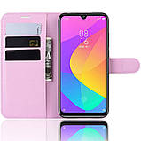 Чехол-книжка Litchie Wallet для Xiaomi Mi A3 Lite / Mi CC9 Pink (hub_fcks18967), фото 4