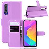 Чехол-книжка Litchie Wallet для Xiaomi Mi A3 Lite / Mi CC9 Violet (hub_hURk81705), фото 2