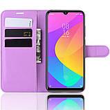 Чехол-книжка Litchie Wallet для Xiaomi Mi A3 Lite / Mi CC9 Violet (hub_hURk81705), фото 5