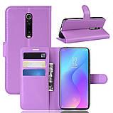 Чохол-книжка Litchie Wallet для Xiaomi Mi 9T / Mi 9T Pro / Redmi K20 / K20 Pro Violet (hub_PVVR55983), фото 2