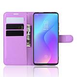 Чохол-книжка Litchie Wallet для Xiaomi Mi 9T / Mi 9T Pro / Redmi K20 / K20 Pro Violet (hub_PVVR55983), фото 3