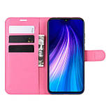 Чехол-книжка Litchie Wallet для Xiaomi Redmi Note 8 Rose (hub_NTHT02588), фото 3