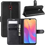 Чехол-книжка Litchie Wallet для Xiaomi Redmi 8A Black (hub_RtOq70270), фото 2