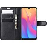 Чехол-книжка Litchie Wallet для Xiaomi Redmi 8A Black (hub_RtOq70270), фото 5