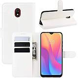 Чехол-книжка Litchie Wallet для Xiaomi Redmi 8A White (hub_AEcS97114), фото 2