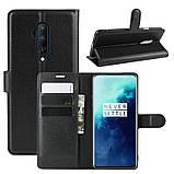 Чехол-книжка Litchie Wallet для OnePlus 7T Pro Black (hub_QvtJ89514), фото 2