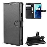 Чехол-книжка Litchie Wallet для OnePlus 7T Pro Black (hub_QvtJ89514), фото 3