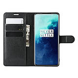 Чехол-книжка Litchie Wallet для OnePlus 7T Pro Black (hub_QvtJ89514), фото 6