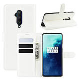 Чехол-книжка Litchie Wallet для OnePlus 7T Pro White (hub_NlGB98098), фото 2