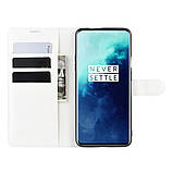 Чохол-книжка Litchie Wallet для OnePlus 7T Pro White (hub_NlGB98098), фото 3