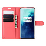 Чехол-книжка Litchie Wallet для OnePlus 7T Pro Red (hub_kozs20699), фото 3