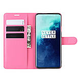 Чехол-книжка Litchie Wallet для OnePlus 7T Pro Rose (hub_ImCa73966), фото 5