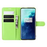 Чехол-книжка Litchie Wallet для OnePlus 7T Pro Green (hub_DlAf11130), фото 5
