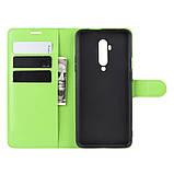 Чехол-книжка Litchie Wallet для OnePlus 7T Pro Green (hub_DlAf11130), фото 6