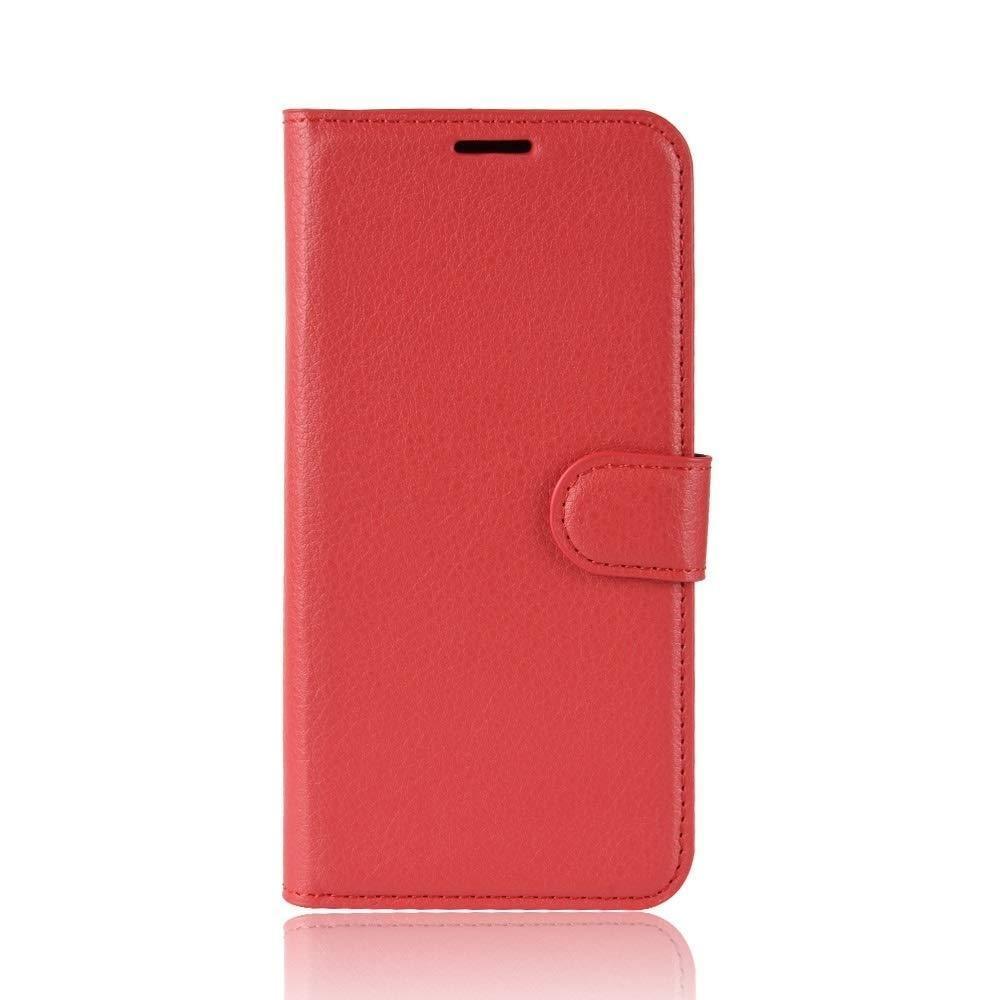 Чехол-книжка Litchie Wallet для OnePlus 7T Red (hub_DwyZ32034)