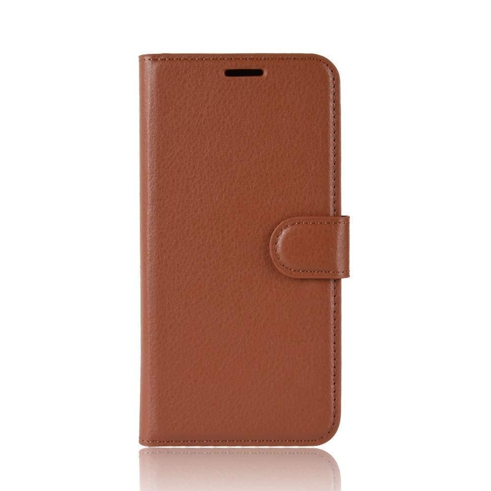 Чохол-книжка Litchie Wallet для OnePlus 7T Brown (hub_DyQc64703)