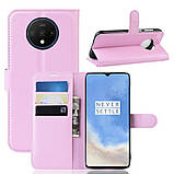 Чохол-книжка Litchie Wallet для OnePlus 7T Pink (hub_YvMS41848), фото 2